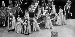Queen Elizabeth - Westminster Abbey - London 1953