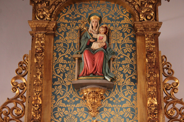 Our Lady of Walsingham in the church of Saint Bede, Williamsburg, VA